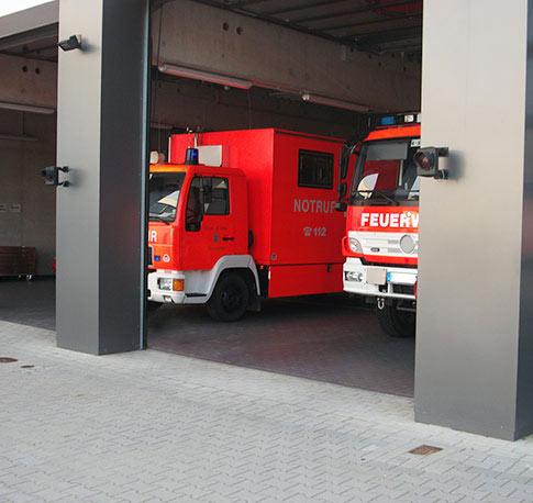 Alarmwege im Feuerwehrhaus