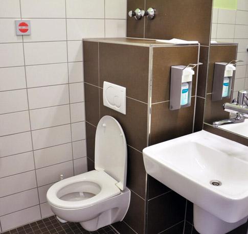 sicheres krankenhaus patientenzimmer wc duschen. Black Bedroom Furniture Sets. Home Design Ideas